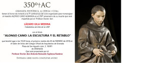 Conferencia Alonso Cano